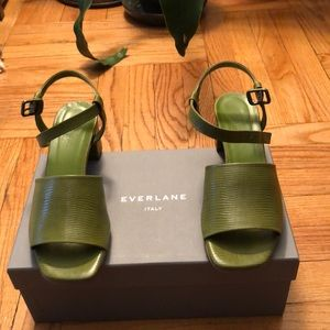 Everlane block heel  Sandals
